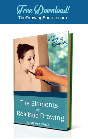 Free E-Book! Learn the five elements essential to the realism of your drawing, how to achieve a likeness of whatever you draw, 10 Common Mistakes that detract from the realism of your drawing, and much more!