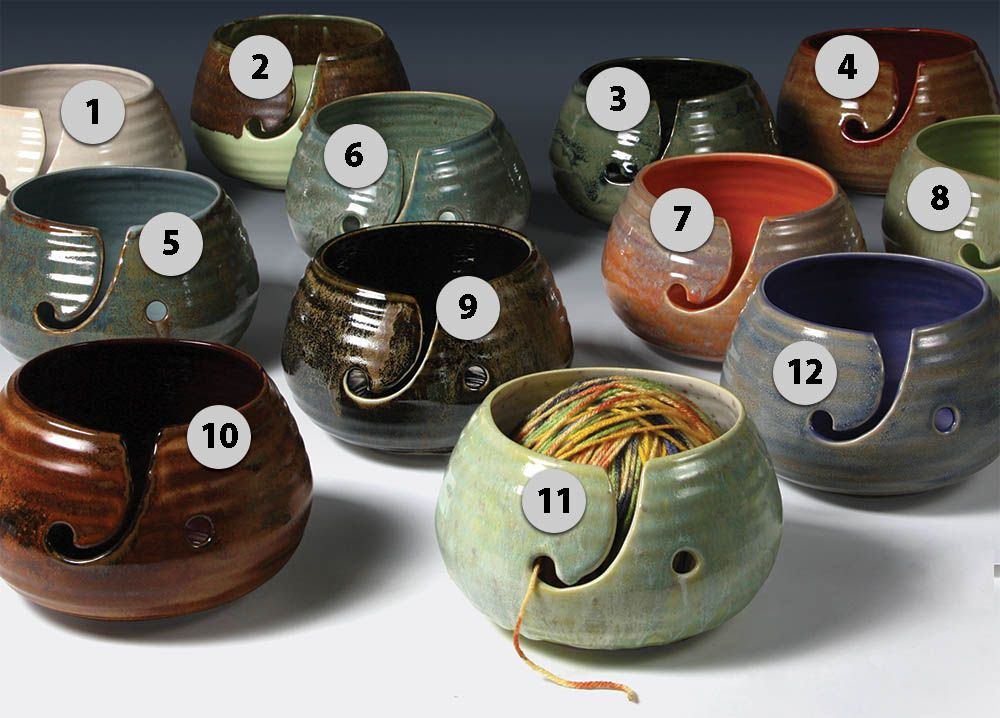 More Mayco Stoneware Glaze Combinations