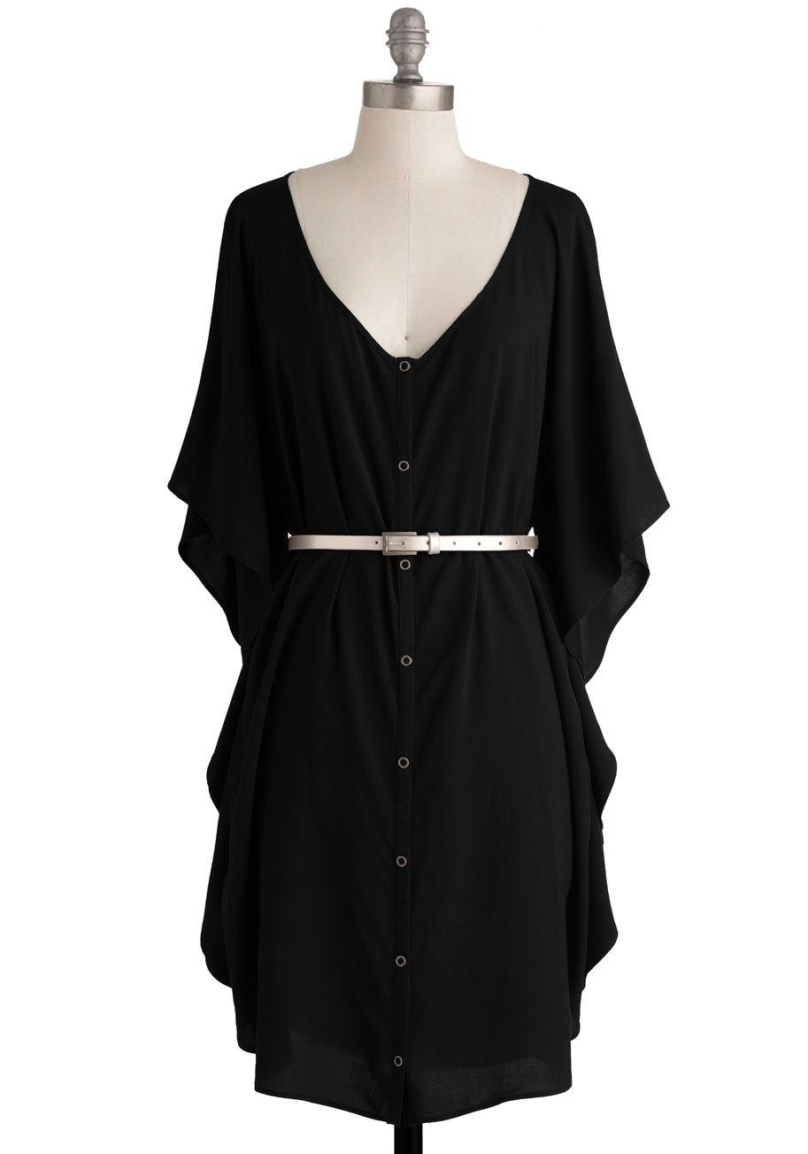 Jack by BB Dakota You and Me Forever Dress in Black   Mod Retro Vintage Dresses   ModCloth.com