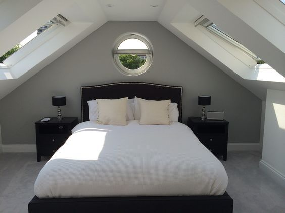 breathtaking loft bedroom conversion ideas | grey loft room - Google Search | Games room | Bedroom loft ...