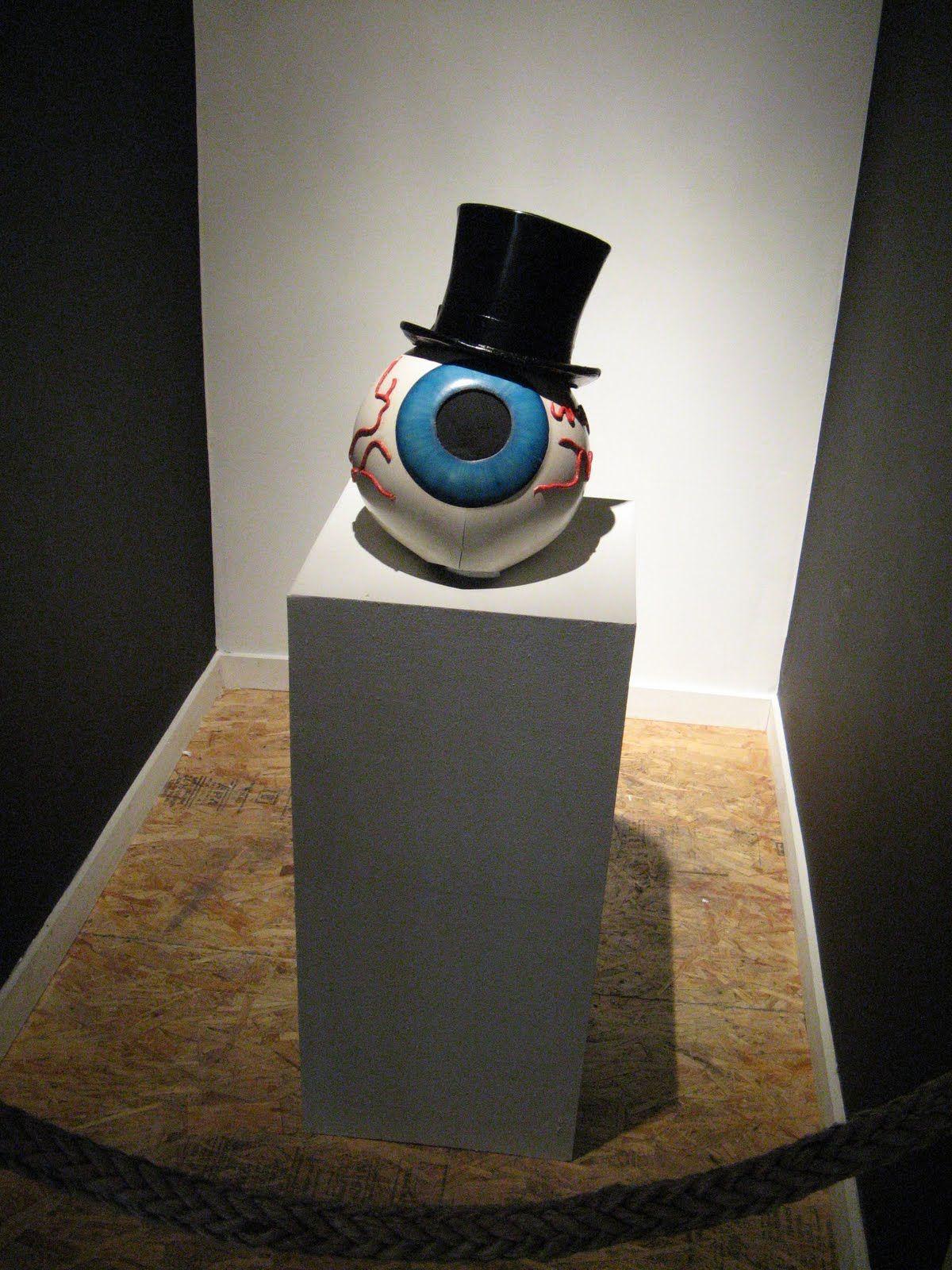 Original eyeball mask from The Residents music video ...