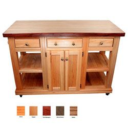 Kitchen Island 24 Inches Wide cossatot kitchen island | butcher blocks, shelves and the o'jays