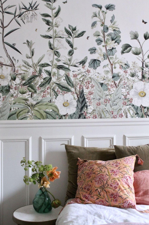 Déco Pinterest : tendances 18  Papier peint floral, Papier