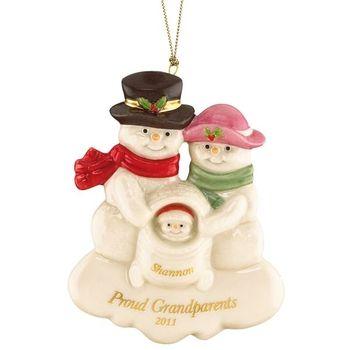 Proud Grandparents Ornament By Lenox Grandparents Ornament Ornaments Christmas Ornaments