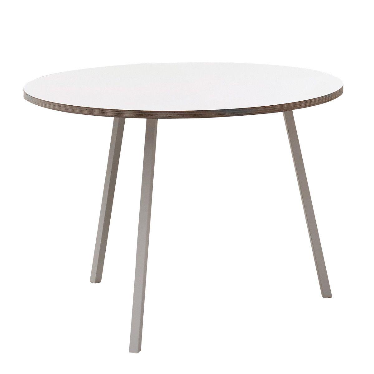 Hay   Loop Stand Tisch, Rund