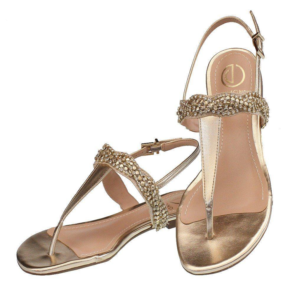 bdad3e7c3 Metal Detail Toe Post Sandals - Trendy Tshirts, dresses, heels, shoes,  clothing, jewelry & stuff. Bracelets, earrings, … | Fashion Apparel  Stylizio.com ...