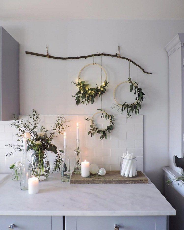 Photo of Natürliche Weihnachtsdekoration zum Selbermachen Erstellen Sie ein poetisches und einheitliches Interieur