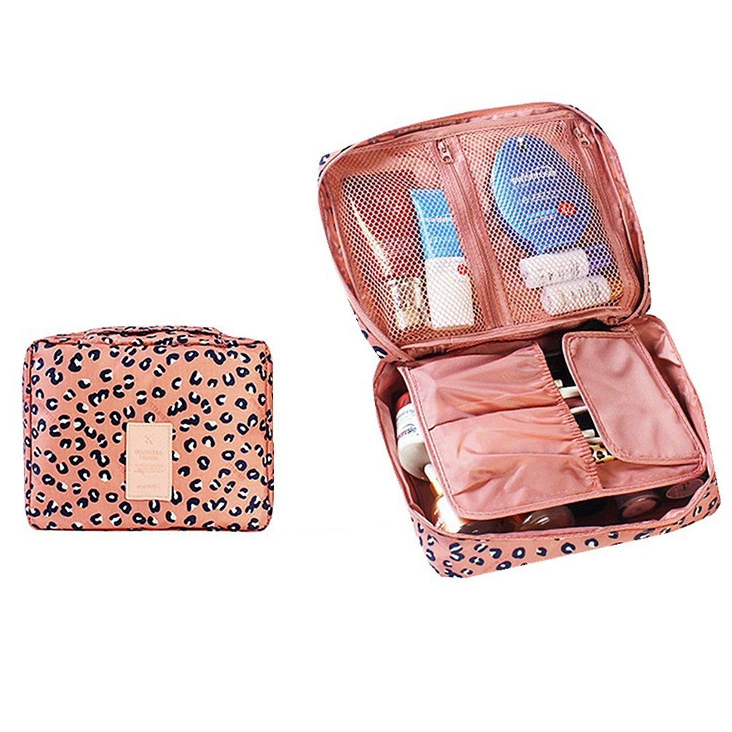 dfe433a321d0 Itraveller Printed Multifunction Portable Travel Toiletry Bag ...