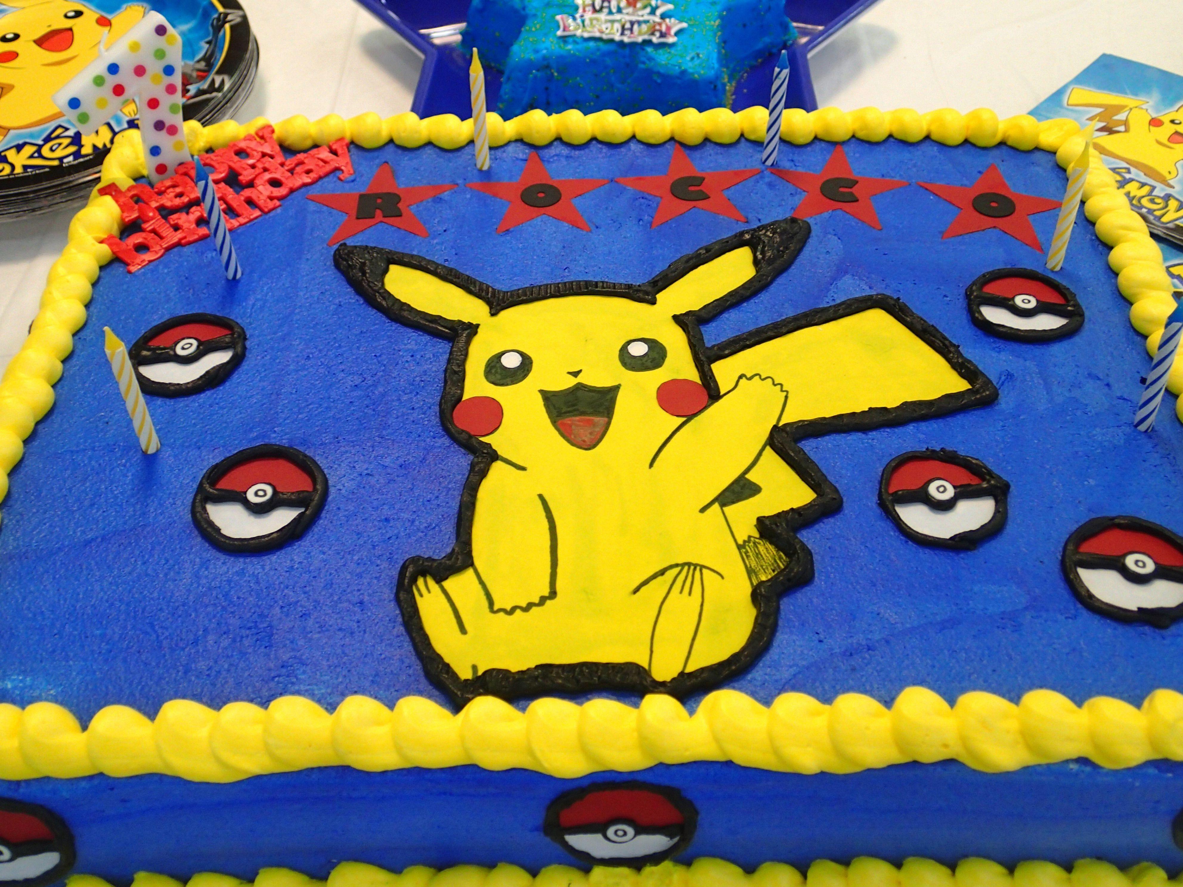 Pokemon Sugar Sheets For Cake Decorating