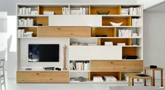 Meuble TV Sur mesure Style contemporain