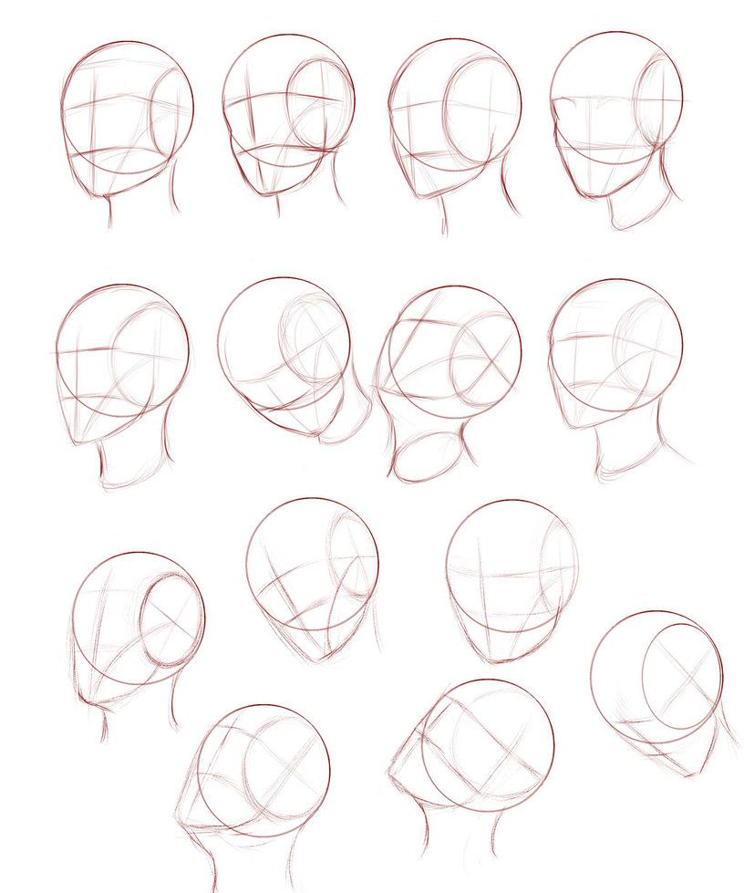 403 Forbidden Drawing Heads Drawing Tutorial Face Sketches