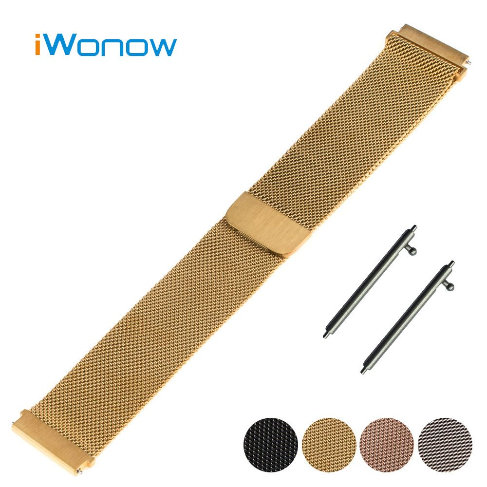 b79550c327c Click to Buy    Stainless Steel Watch Band 18mm for Withings Activite