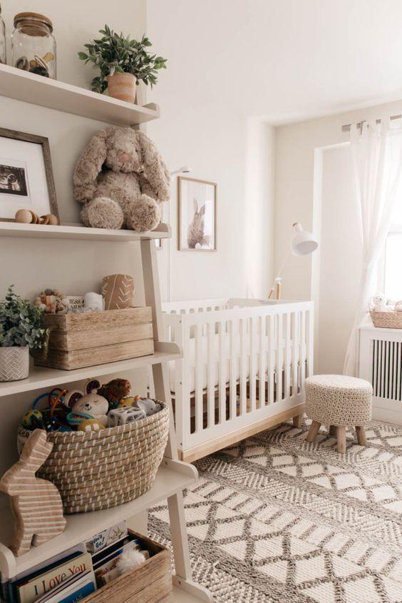 Deja entrar el poder de lo neutro a la habitación de tu bebé