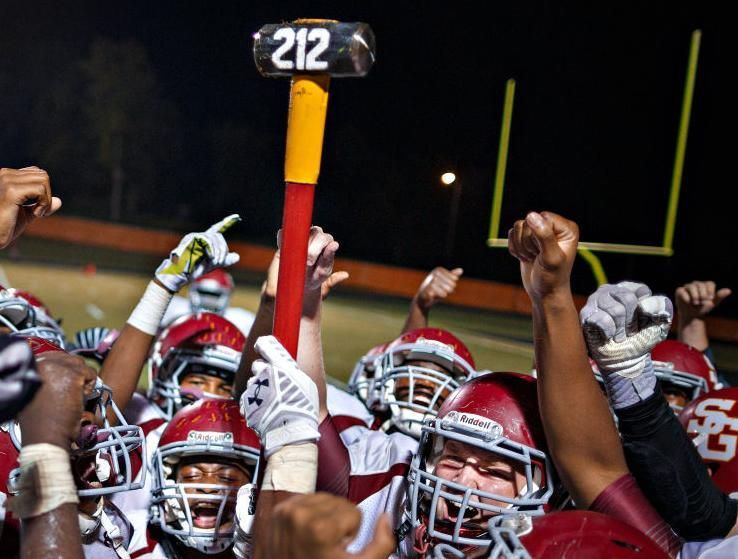 High School Football 2014 Southern Guilford At Southeast Guilford