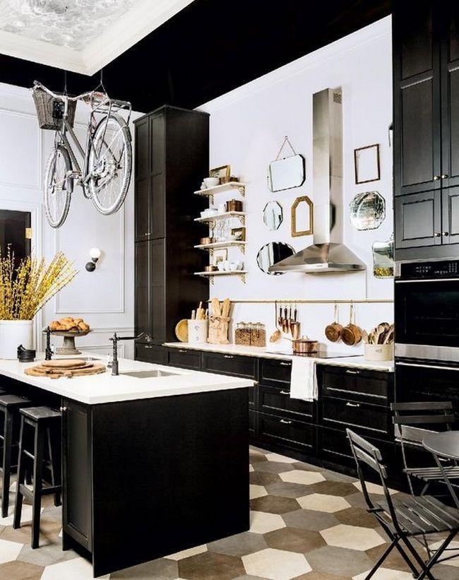 50+ Parisian Kitchen Decor Small Spaces_46 Good Ideas