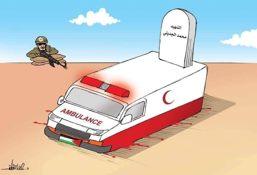 قوات الاحتلال تتعمد استهداف الطواقم الطبية كاريكاتير بريشة د علاء اللقطة Toy Car Never Give Up Car