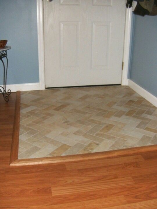 Tiled entryway daycare remodel pinterest tile for Foyer flooring ideas