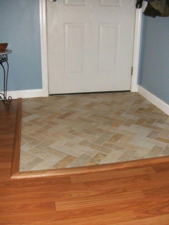 Tiled Entryway Daycare Remodel Entryway Flooring