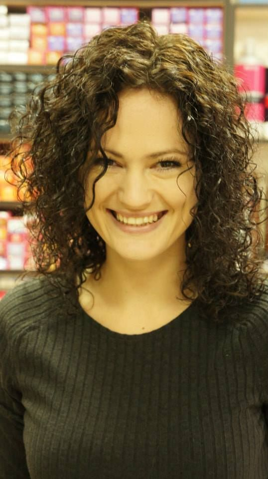 Medium Curl In This Shoulder Length Perm Hair Styles I