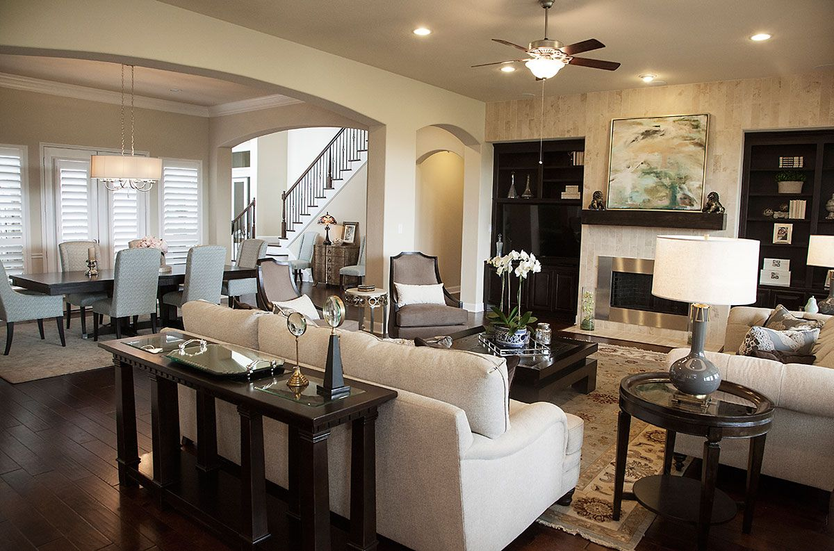 Great / Family Room And Interior Design By Yi Yun Lin Of Star Furniture, · Sugar  LandFamily Rooms