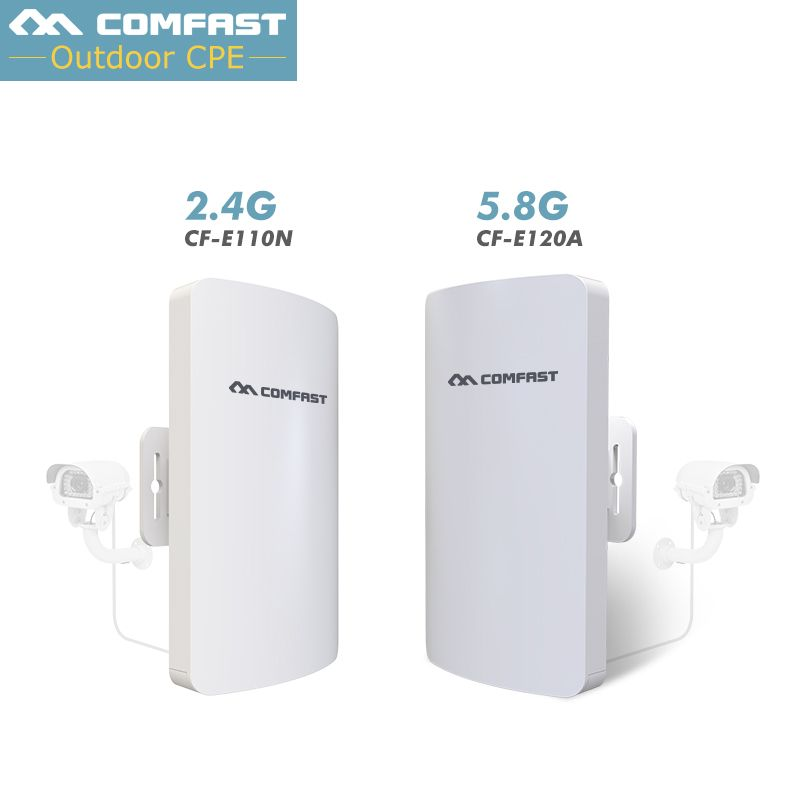 Comfast Outdoor CPE WIFI Router 200mW 300Mbps 5G/2 4G Wireless