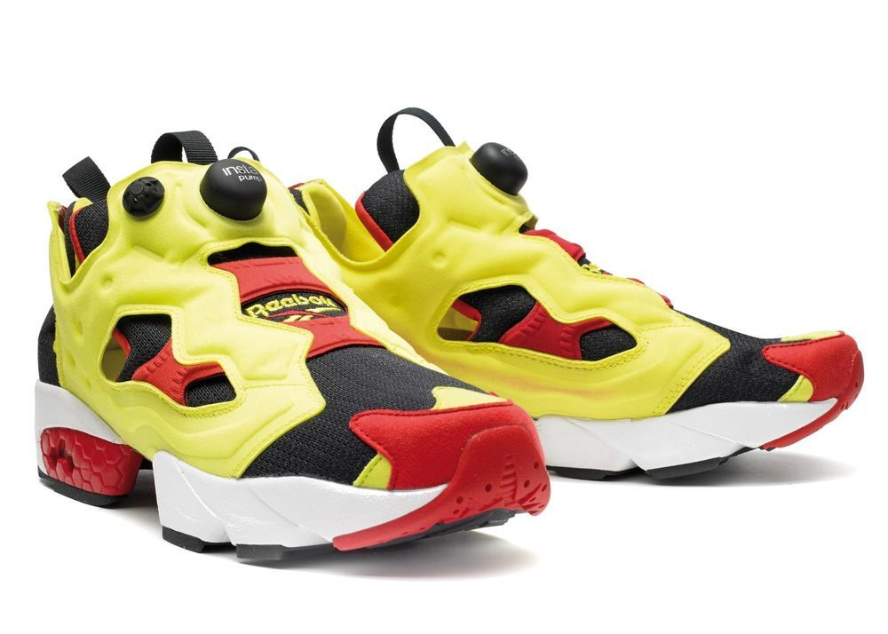 Reebok Insta Pump Fury OG  Citron  V47514  NEW  Hexalite Technology  Lightweight! a08ba44505
