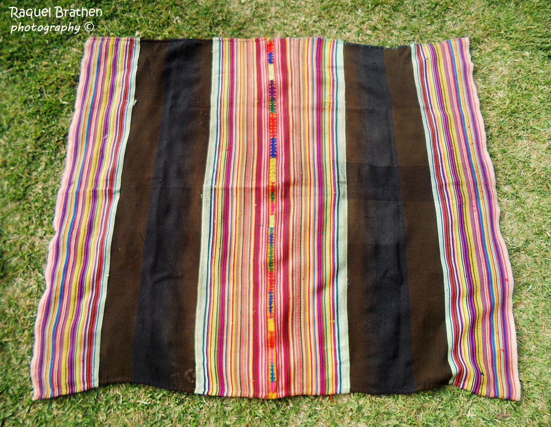 vintage mesa cloth genuine handwoven manta shaman mesa black u0026 red