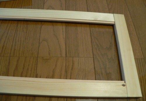 diy内窓で作る内窓作成の第二回目の今回は 窓部分 の作成を行います