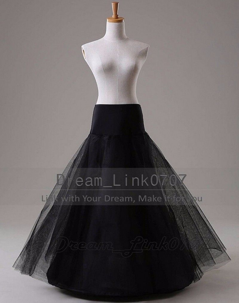 Wedding Accessories Jupon Mariage Hot Sale White Tulle Tulle Dress Long Underskirt Cheap Petticoat Stock Enaguas Para El Vestido De Boda