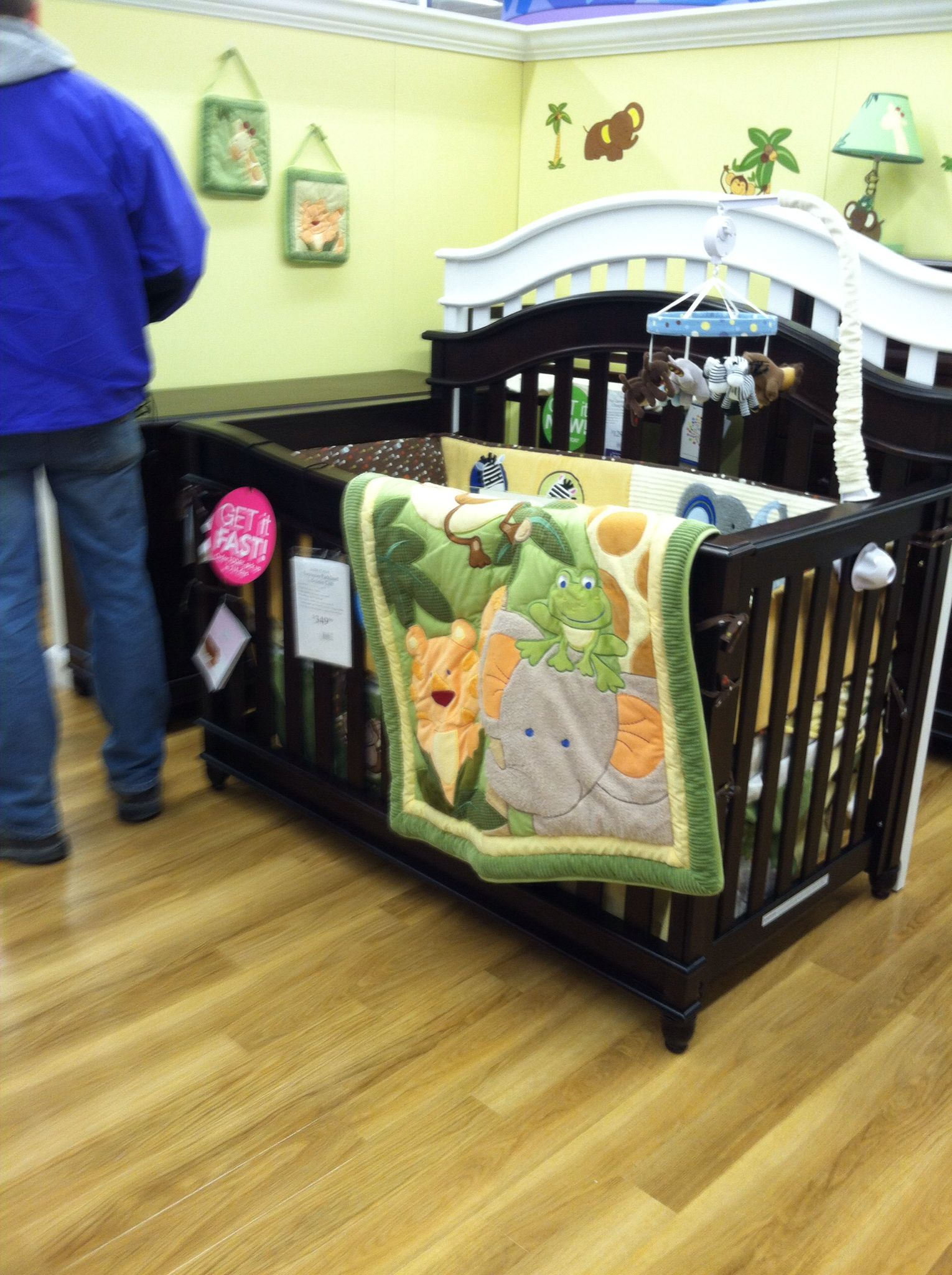 Crib I love at baby's r us... 3 in 1