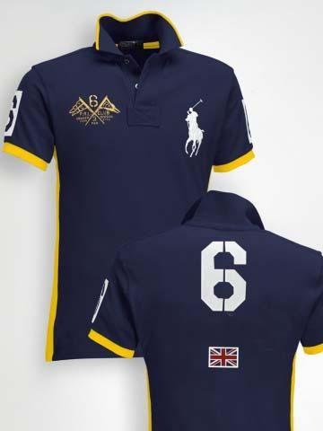 Camisa Polo AZUL-REY 6  8406a7934bd