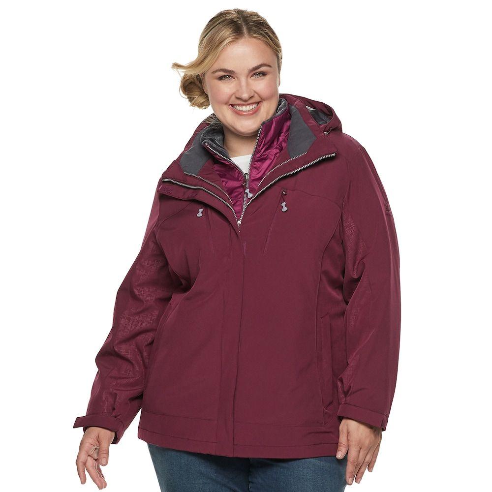 3a3e70ee8f59 Plus Size ZeroXposur Trish 3-in-1 Heavyweight Systems Jacket ...