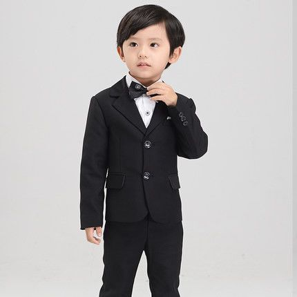 (Jackets+Vest+Pants+Tie+Shirt) Boy Suits Flower girl Slim Fit Tuxedo Brand Fashion Bridegroon Dress Wedding blue Suits Blazer