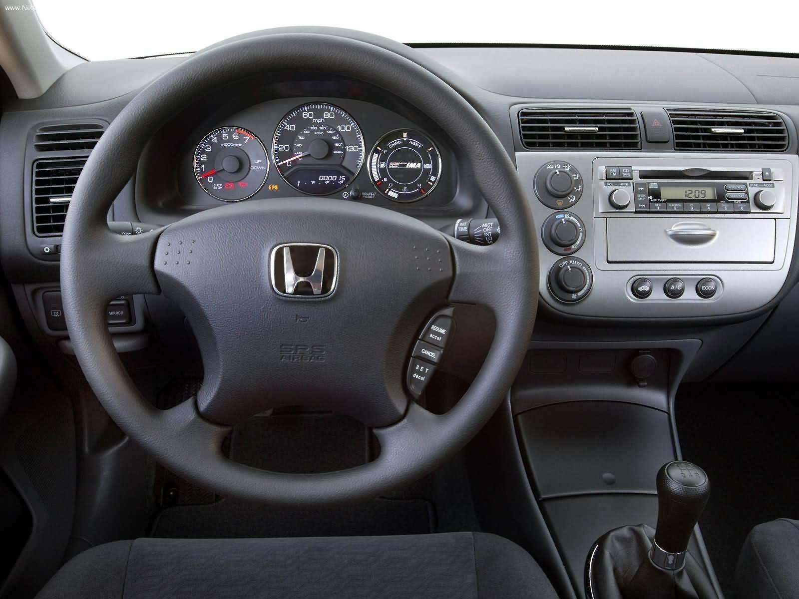 Honda Civic Hybrid 2005 Honda Civic Hybrid Honda Honda Civic
