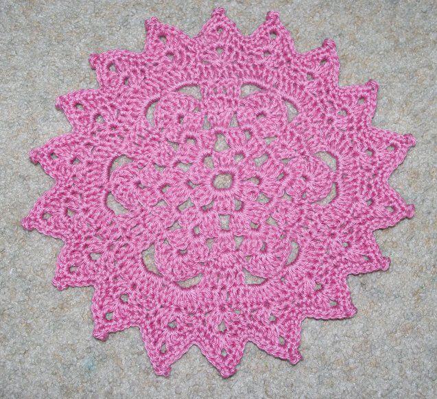 Picot Points Doily Crochet Pattern Crochet Love Pinterest