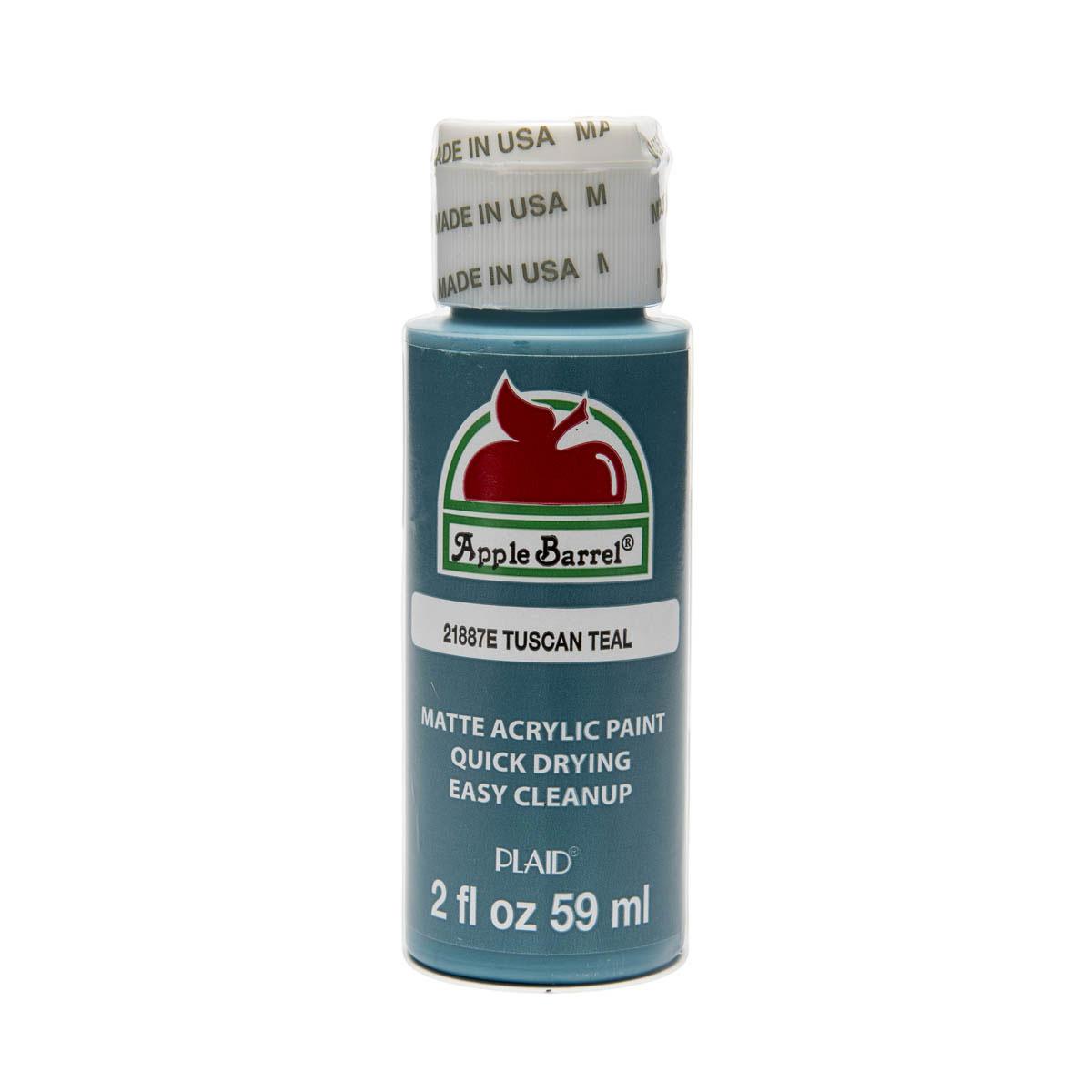 Apple Barrel ® Colors Tuscan Teal, 2 oz Acrylic craft