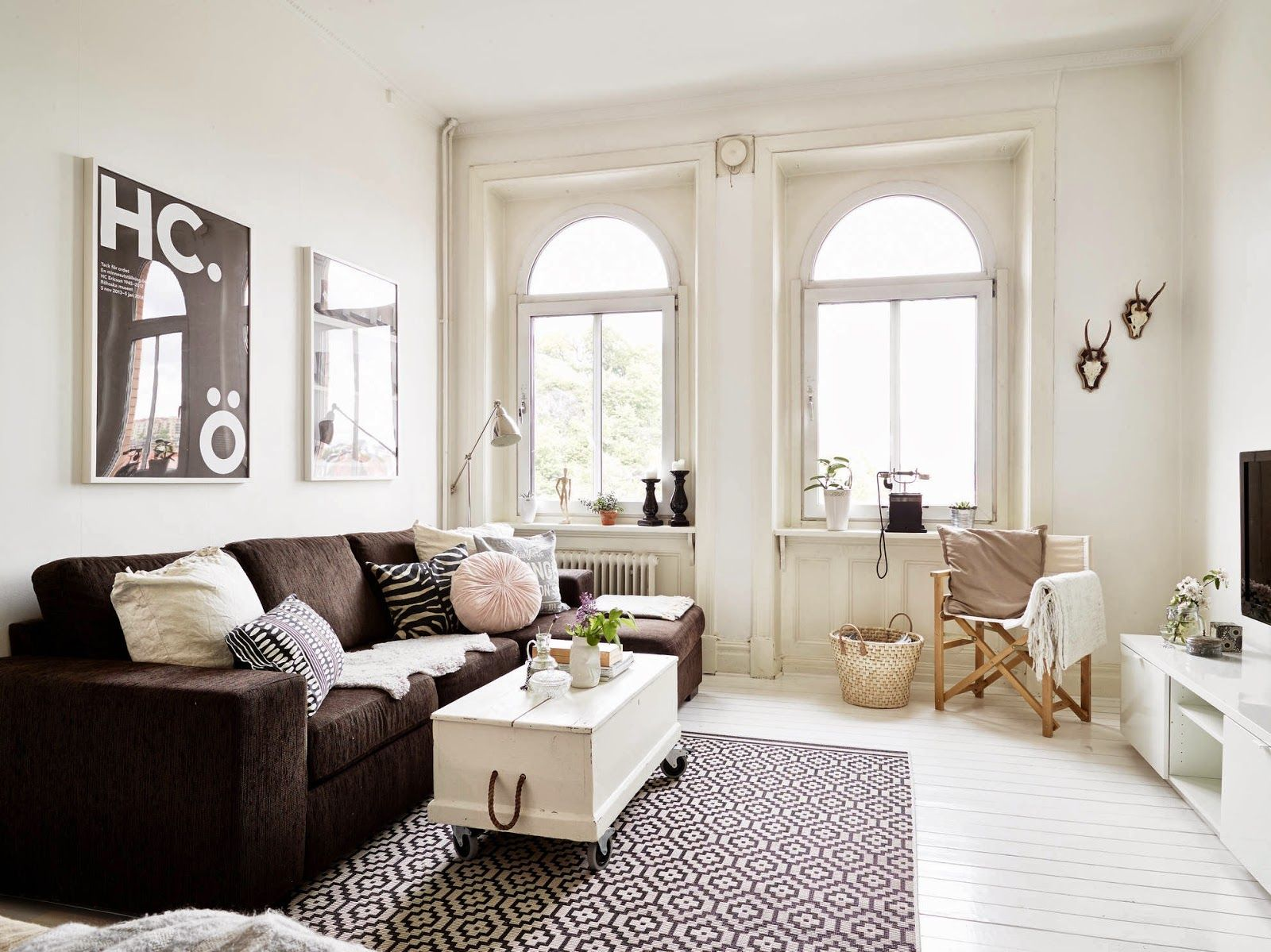 My leitmotiv : blog de decoraciÓn: un apartamento romántico y