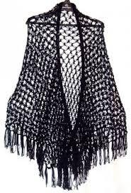 Resultado de imagen de chal de crochet