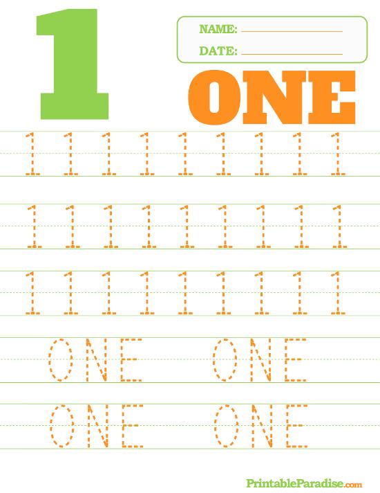 Kindergarten Writing Numbers Printable Worksheets ...