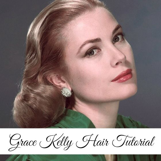 Grace Kelly Hair Tutorial The Glamorous Housewife Retro Hairstyles Hair Tutorial Hair Styles