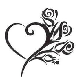 Photo of Heart Tattoo Designs – The Body is a Canvas