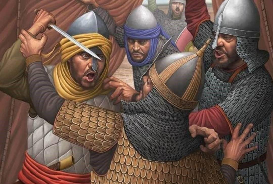 Umayyad Soldiers Historical Art Military Art Islamic Art