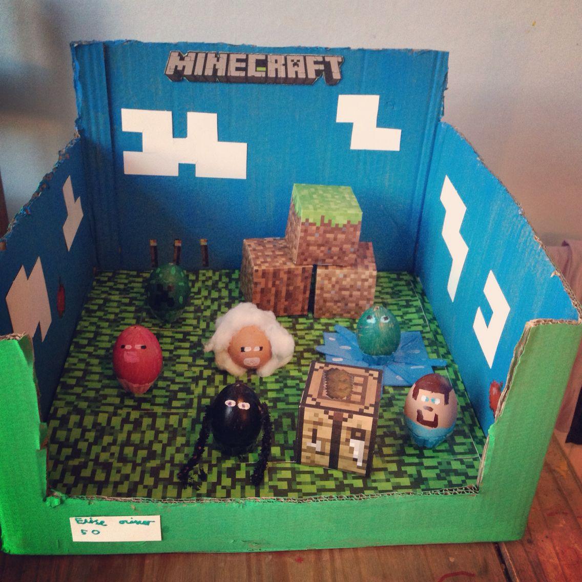 Minecraft Egg Decorating Easter Egg Crafts Easter Egg Designs Egg Decorating