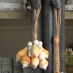 Shell Tassels-Canarium Adorn your candelabra, door knobs or ...