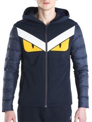 8f799acc FENDI Monster Eyes Padded Jacket. #fendi #cloth #jacket | Fendi Men ...