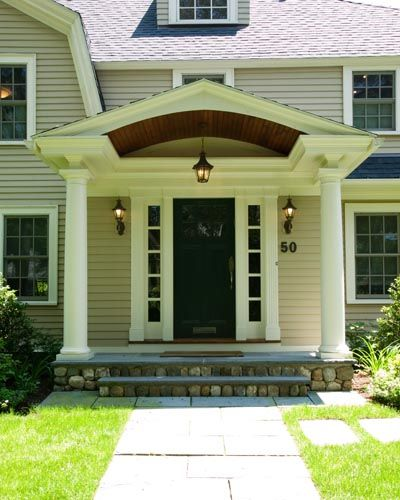 i like the pendant light outside the door colonial entryways yahoo search results. beautiful ideas. Home Design Ideas