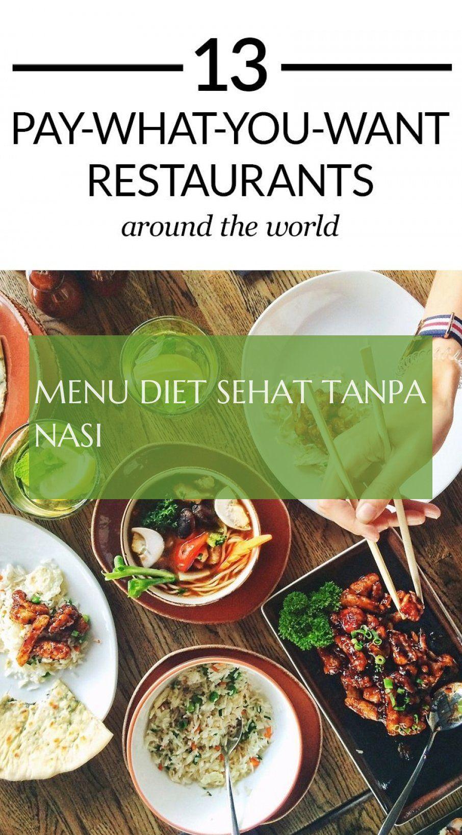 Diet Tanpa Nasi : tanpa, Detox, Recipes