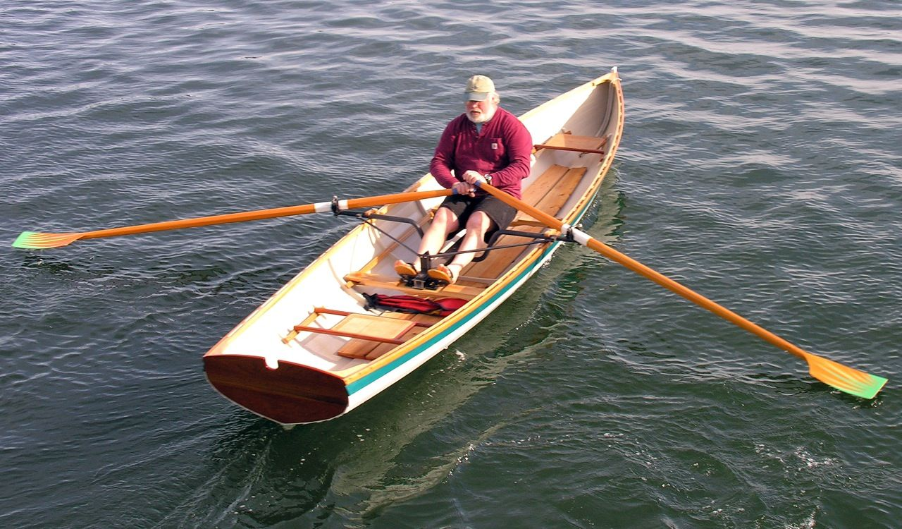 Peregrine wherry rowboat built by Salt Pond Rowing for sale | row boats | Rowing, Boat, Kayak boats