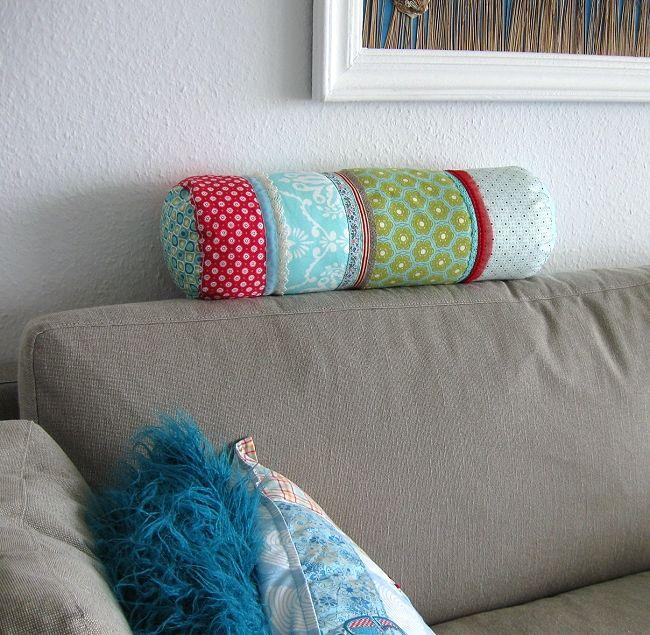 kissenrolle selber n hen krabbeldecke pinterest n hen kissen n hen und kissen. Black Bedroom Furniture Sets. Home Design Ideas