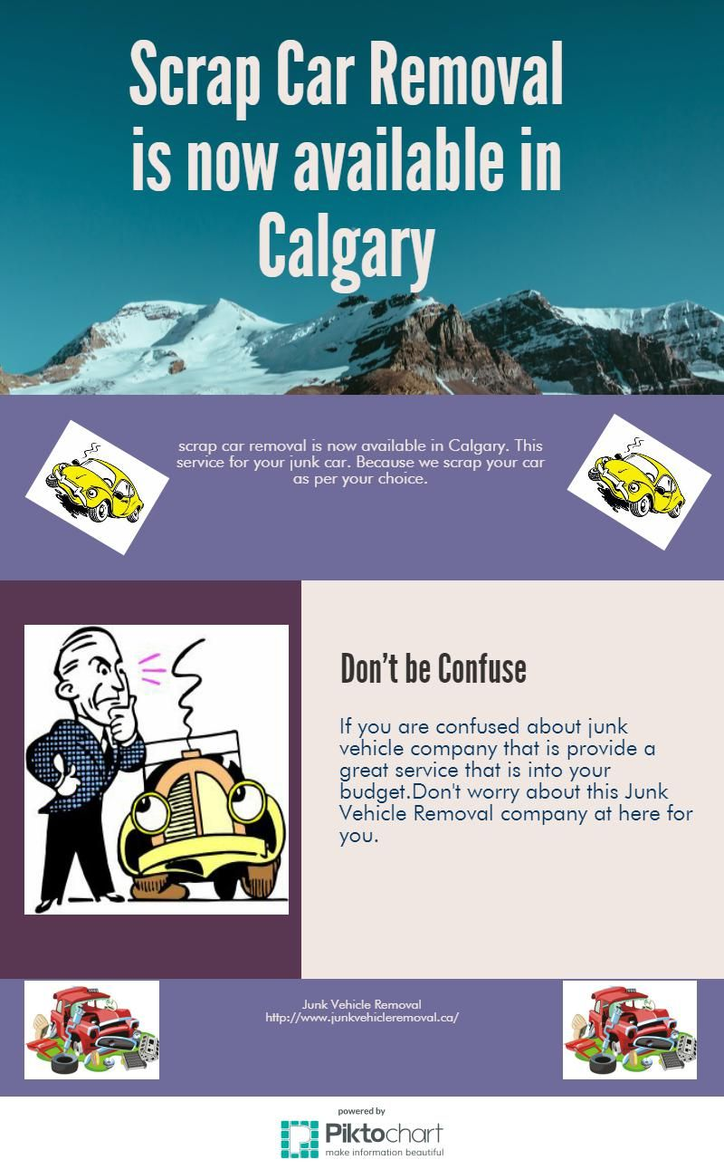 Junk vehicle removal company is the best company in Calgary for junk ...